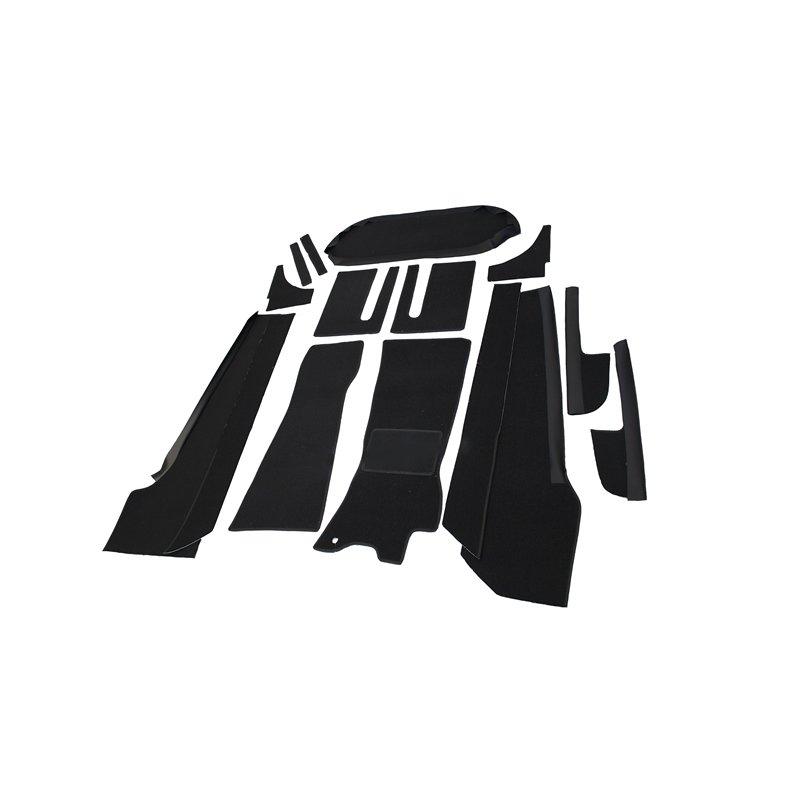 schwarzer teppichsatz teppich schlingenware f r opel gt stoff ke. Black Bedroom Furniture Sets. Home Design Ideas