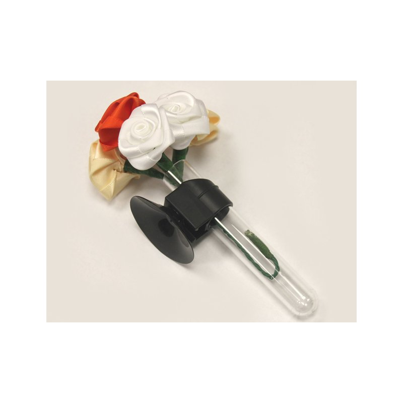 auto blumenvase mit rosenstrau aus seidenblumen 14 90. Black Bedroom Furniture Sets. Home Design Ideas