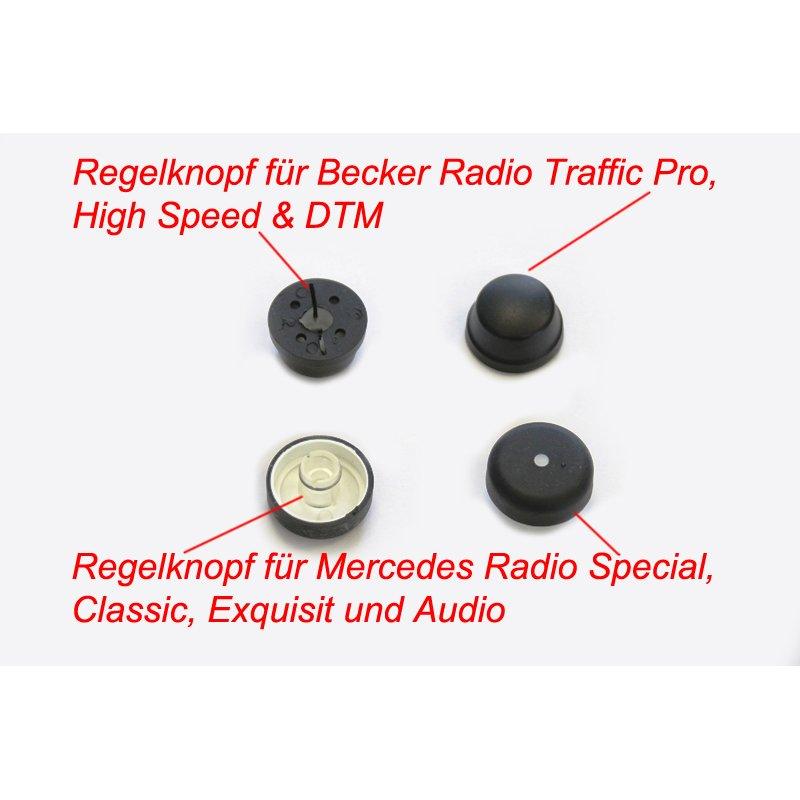 radio knopf f r mercedes radio special classic exquisit. Black Bedroom Furniture Sets. Home Design Ideas