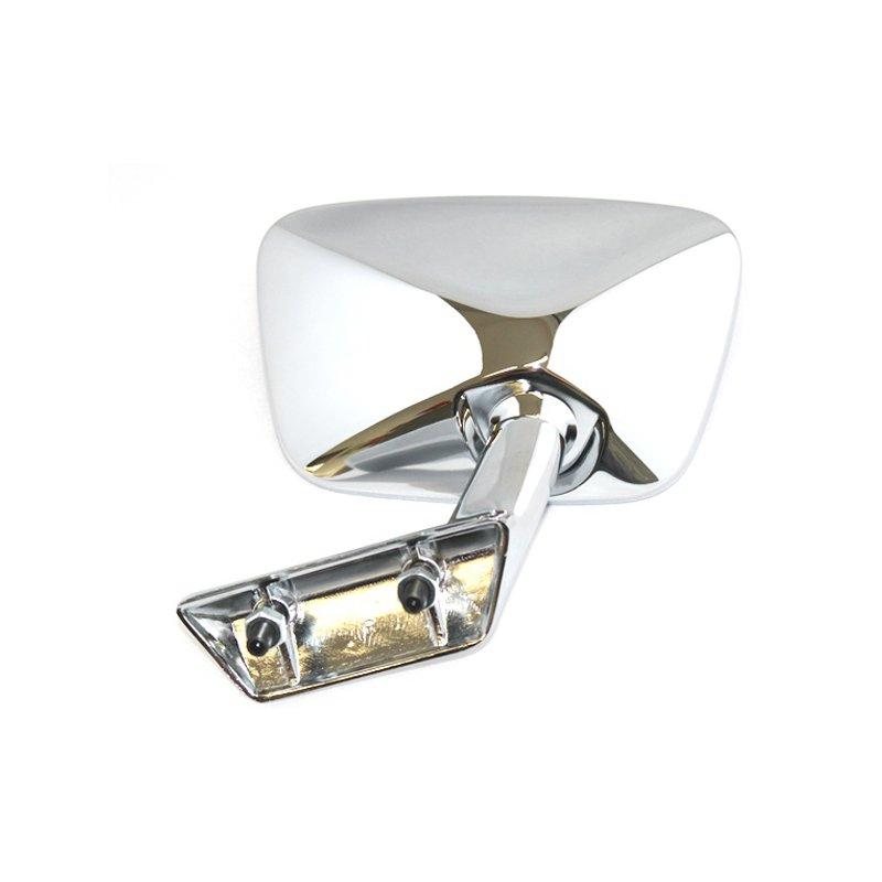rechter chrom au enspiegel f r mercedes benz 280sl w113 8. Black Bedroom Furniture Sets. Home Design Ideas