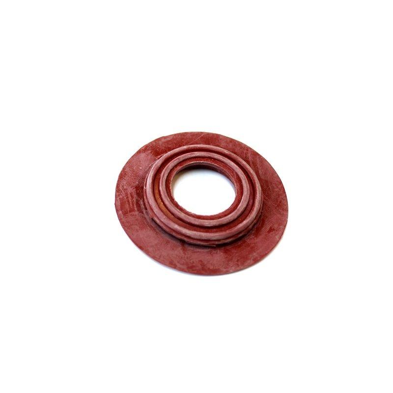 Rote Gummi Durchführung für Mercedes Oldtimer Teppich, 5,80