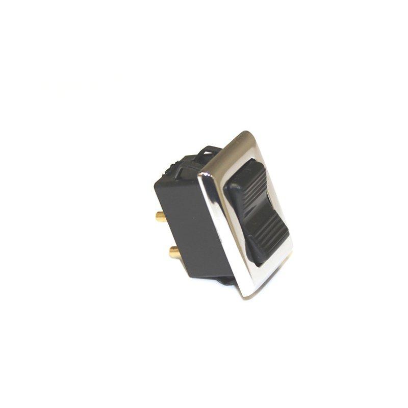 schalter mit chrom rand f r elektrische fensterheber mercedes r107 w1 39 90. Black Bedroom Furniture Sets. Home Design Ideas