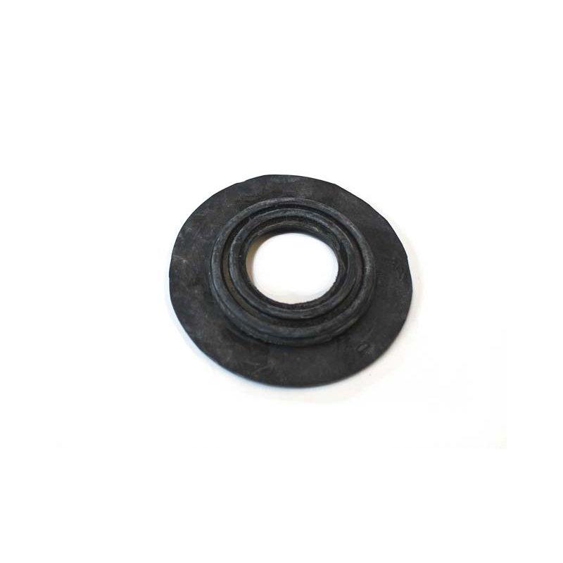 Schwarze Gummi Durchführung für Mercedes Oldtimer Teppich