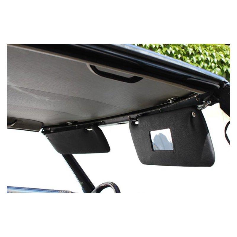 schwarze sonnenblenden f r mercedes r107 280 500sl. Black Bedroom Furniture Sets. Home Design Ideas