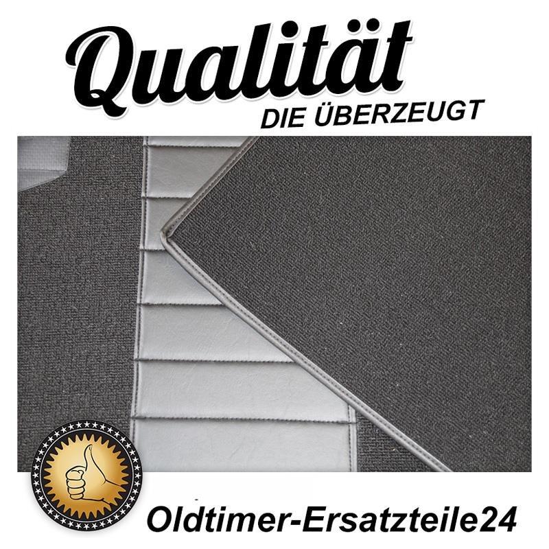 schwarzer teppichsatz teppich schlingenware f r bmw 2002 e1. Black Bedroom Furniture Sets. Home Design Ideas