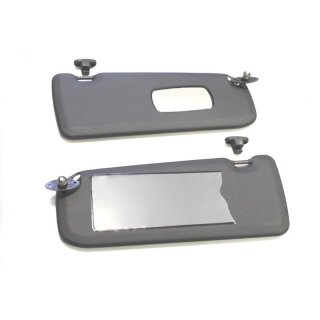 Sun Visor set for BMW E30 Convertible and Coupe ... a53add186de