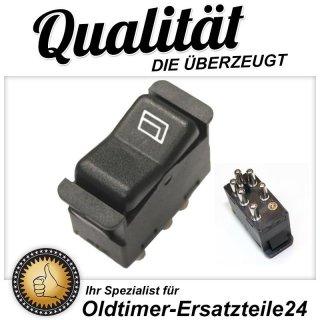6-Pin Schalter für elektrische Fensterheber Mercedes W123 W126 ...