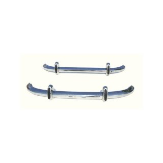 Stainless Steel Bumper Set For Saab 96 Longnose