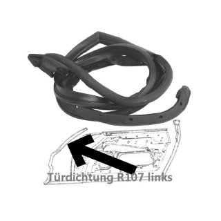 linke t rdichtung f r mercedes r107 44 50. Black Bedroom Furniture Sets. Home Design Ideas