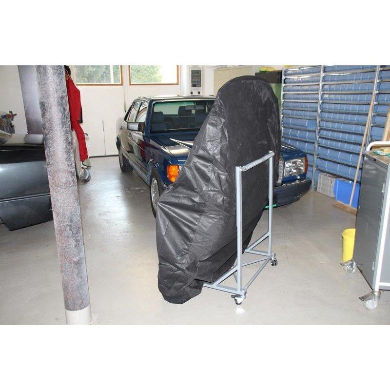 Mercedes SL R107 Hardtopständer PLUS Hardtop Cover Rollwagen Ständer Germany NEU