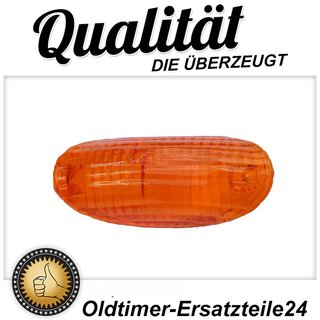 Glass rear right orange for taillight BMW V8